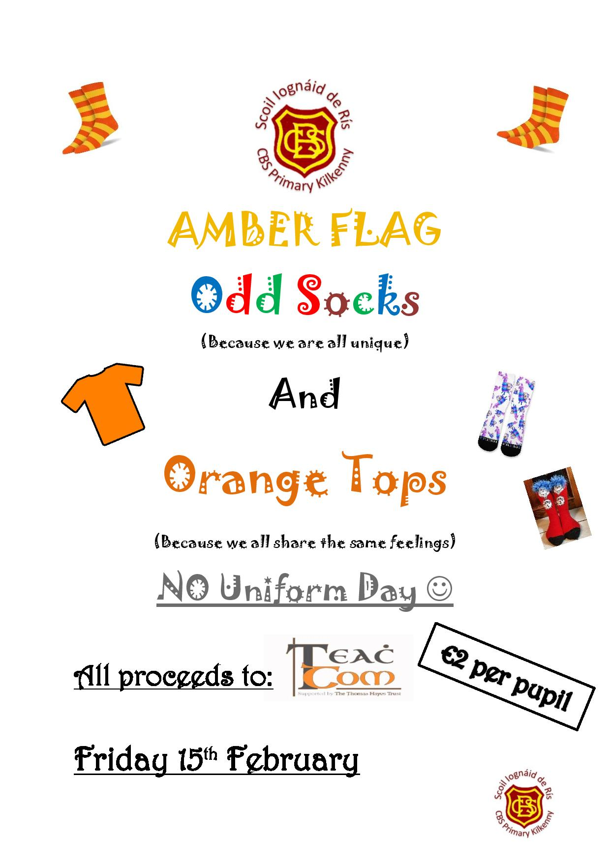 Amber Flag - No Uniform Day 2019